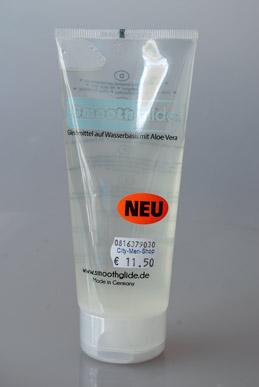 Smooth Glide - Gleitmittel auf Wasserbasis